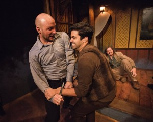 Pavi Proczko, C. Richard Costes, and Chris Schroeder in R + J THE VINEYARD. Photo by Joe Mazza, Brave Lux.