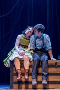 Emma Rosenthal (Molly) and Caleb Donahoe (Boy).