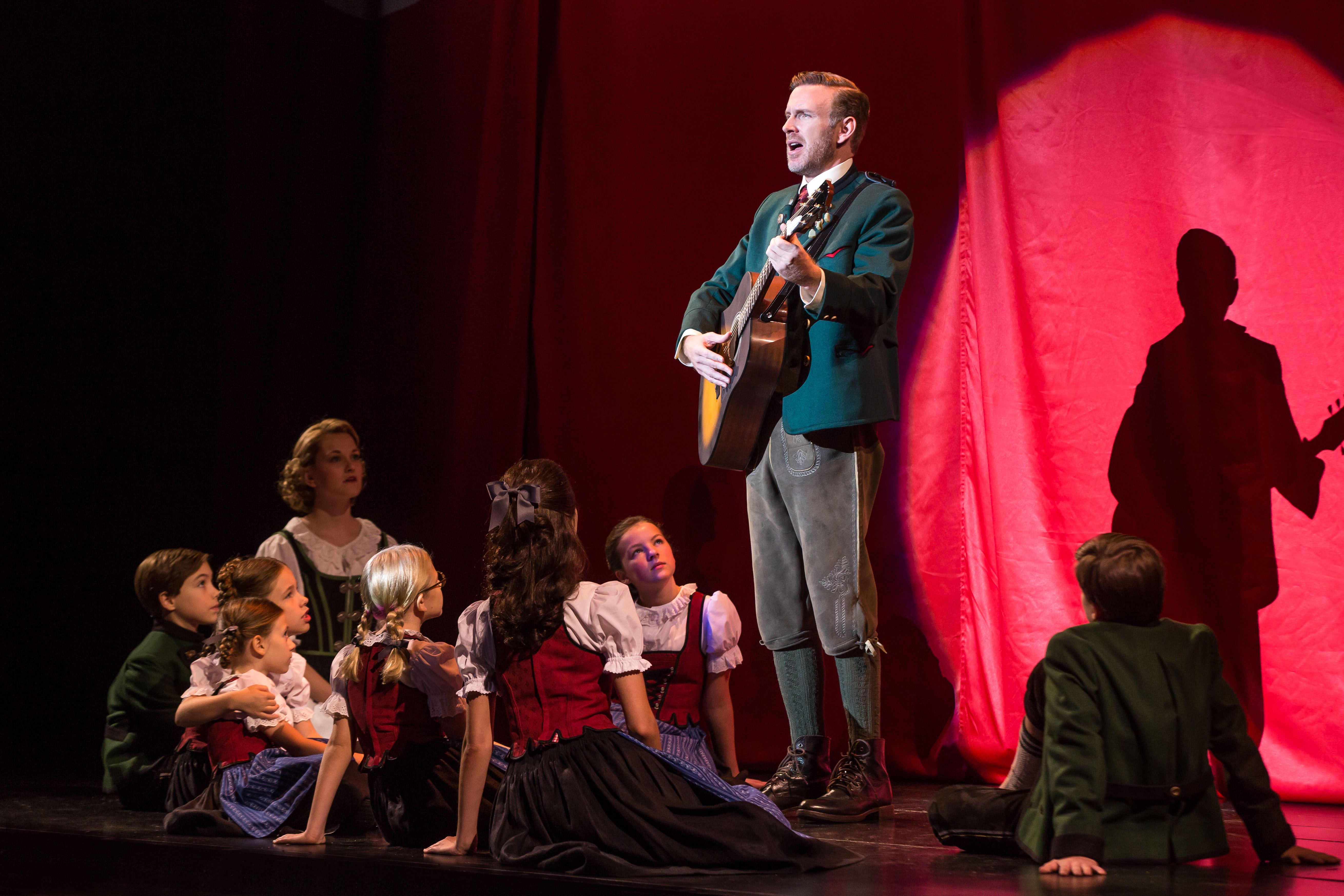ahmanson theatre sound of music theater review the sound of national tour at the 11869