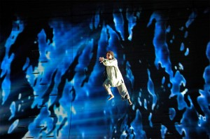 A scene from San Francisco Opera performance of MOBY DICK. Photo by Cory Weaver