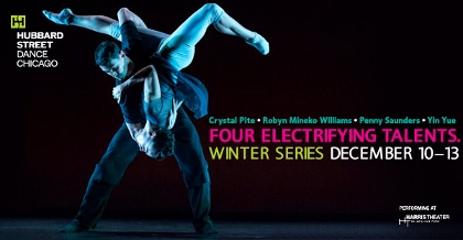 Post image for Chicago Dance Review: HUBBARD STREET DANCE CHICAGO (Season 38 Winter Series at the Harris)