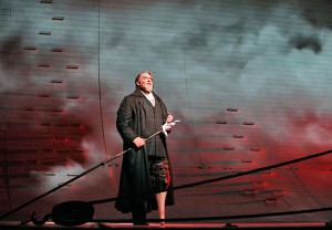 Jay Hunter Morris in a 2013 San Francisco Opera performance of MOBY DICK. Photo by Cory Weaver