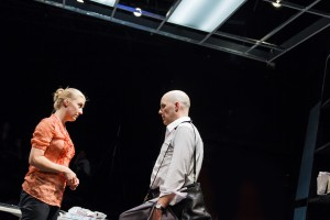 Melanie Derleth as Leslie & Vance Smith as Patrick in The Firestorm by Meridith Friedman. Photo by Ian McLaren.