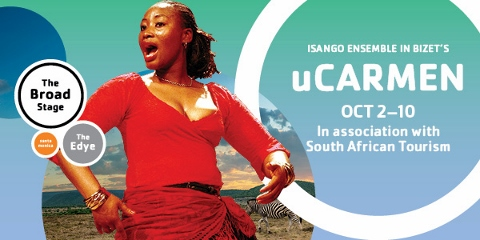 Post image for Los Angeles / Tour Opera Review: UCARMEN (Isango Emsemble at The Broad Stages in Santa Monica)