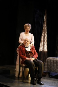 Jean Lichty and George Morfogen in Cherry Lane Theatre's NORA.