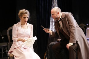 Jean Lichty and Larry Bull in Cherry Lane Theatre's NORA.