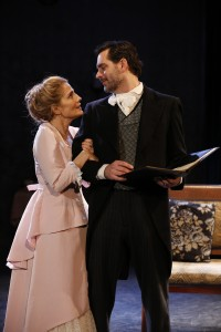Jean Lichty and Todd Gearhart in Cherry Lane Theatre's NORA.