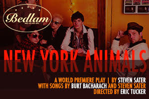 Post image for Off-Broadway Theater Review : NEW YORK ANIMALS (Bedlam Theatre Company at the New Ohio Theater)