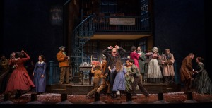 The cast of A Christmas Carol at Goodman Theatre