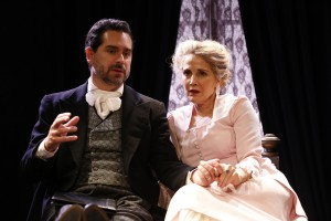 Todd Gearhart and Jean Lichty in Cherry Lane Theatre's NORA.