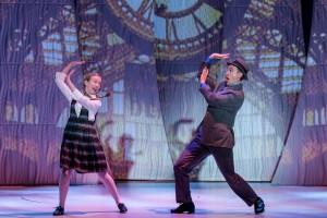Isabelle Roberts as Sad Girl and Matt Crowle as Albert in Drury Lane's BYE BYE BIRDIE. Photo by Brett Beiner.