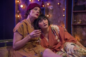 Jennifer Engstrom & Mierka Girten in Tennessee Williams' MUTILATED at A Red Orchid Theatre. Photo by Michael Brosilow.
