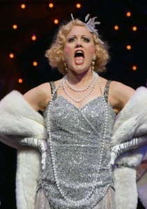Robin Goodrin Nordli stars in The Oregon Shakespeare Festival Production of GUYS & DOLLS. Photo by Kevin Parry.