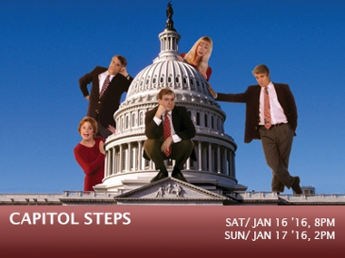 Post image for Los Angeles Theater Preview: CAPITOL STEPS (Carpenter Center in Long Beach)