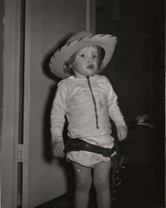 Christine Ebersole Age 3. Photo by Robert Ebersole.