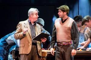 Joe Hart and Caleb Shaw at La Mirada Theatre for the Performing Arts.