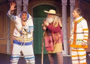 Nick Santa Maria, Tom Hall, Larry Raben