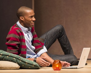 "York Walker in ""The Mystery of Love & Sex"" at the Center Theatre Group/Mark Taper Forum. Written by Bathsheba Doran and directed by Robert Egan, ""The Mystery of Love & Sex"" plays February 10 – March 20, 2016, at the Center Theatre Group/Mark Taper Forum. For tickets and information, please visit CenterTheatreGroup.org or call (213) 628-2772. Contact: CTG Media and Communications/ (213) 972-7376/CTGMedia@ctgla.org Photo by Craig Schwartz"