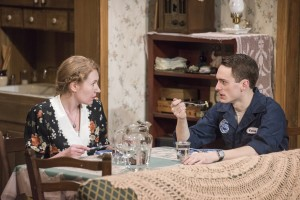 Sam Hubbard, Abigail Boucher in A LOSS OF ROSES at Raven Theatre.