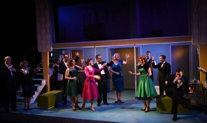 The cast of Porchlight's Far From Heaven