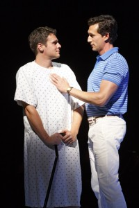 Jonathan-Groff-and-Aaron-Lazar- in-A-New-Brain-photo-by-Joan-Marcus