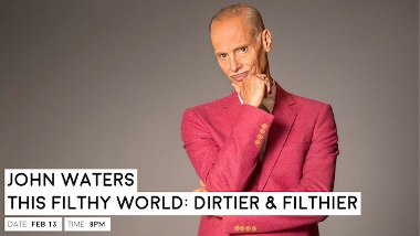 Post image for Los Angeles Concert Review: JOHN WATERS, THIS FILTHY WORLD: FILTHIER AND DIRTIER (Luckman)