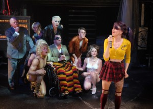 The cast of The Rocky Horror Show
