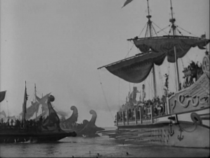 Ben Hur (1925) sea battle
