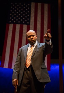 James Earl Jones II (Carlyle Meyers) in Carlyle by Thomas Bradshaw, directed by Benjamin Kamine at Goodman Theatre (April 2 – May 1, 2016).