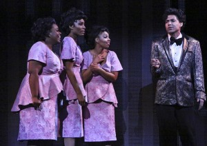 Moya Angela, Jasmin Richardson, Brittney Johnson and David LaMarr star in the LA MIRADA THEATRE FOR THE PERFORMING ARTS & McCOY RIGBY ENTERTAINMENT production of DREAMGIRLS.