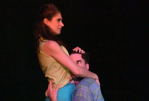 Nicola Rinow (Helena) and Bryan Breau (Demetrius). Photo by Richard Engling