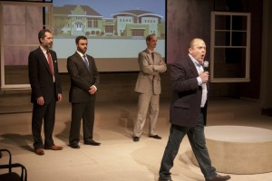 Rom Barkhodar, Frank Sawa, Mark Ulrich, and Steve Silver