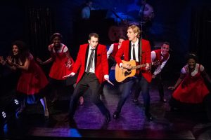 Andrew Bongiorno and Marcus S. Daniel star in the CELEBRATION THEATRE's West Coast premiere of THE BOY FROM OZ