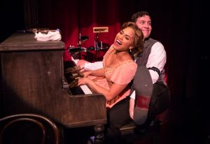Monica Raymund, Adam Brown. Photo by Liz Lauren