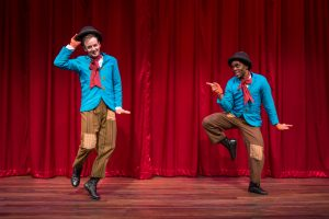 Samuel Taylor (Slocum), Travis Turner (Thaddeus). Photo by Liz Lauren