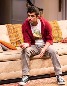 Behzad Dabu in Ayad Akhtar's DISGRACED at Mark Taper Forum.