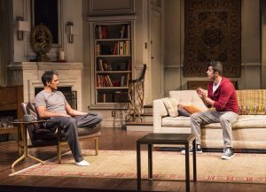 Hari Dhillon and Behzad Dabu in Ayad Akhtar's DISGRACED at Mark Taper Forum.
