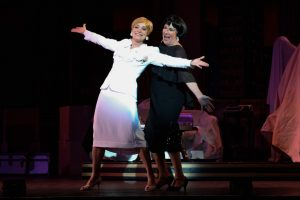 10) Nancy Hays (Mame Dennis) and Mary Robin Roth (Vera Charles) in Light Opera Works' Mame August 20-28, 2016- at Cahn Auditorium in Evanston, IL