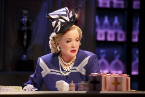 Christine Ebersole in War Paint, a world premiere musical by Doug Wright, Scott Frankel and Michael Korie. Photo by Joan Marcus