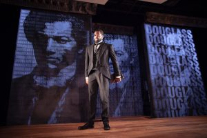 De'Lon Grant in the american vicarious' world premiere of DOUGLASS by Thomas Klingenstein, directed by Christopher McElroen - photo by Evan Barr.