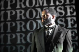 De'Lon Grant in the american vicarious' world premiere of DOUGLASS by Thomas Klingenstein, directed by Christopher McElroen. Photo by Evan Barr.