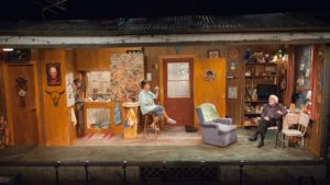 Janet Ulrich Brooks & Mike Nussbaum in Bakersfield Mist at TimeLine Theatre
