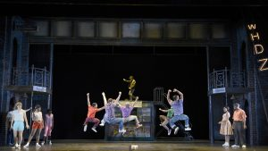 "The COMPANY of Musical Theatre West's Production of ""Memphis."""