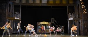 """The COMPANY of Musical Theatre West's Production of """"Memphis."""""""