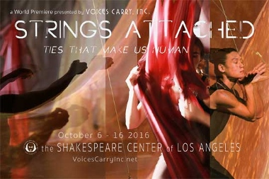 Post image for Los Angeles Dance Review: STRINGS ATTACHED (Voices Carry, Inc. at the Shakespeare Center of L.A.)