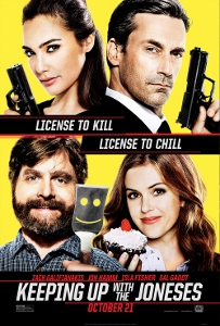 Post image for Film Review: KEEPING UP WITH THE JONESES (directed by Greg Mottola)