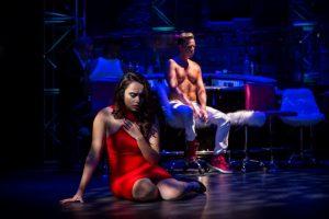 Alexandra Martinez (Dancer/Helena) and Ryan Belongie (Lysander)