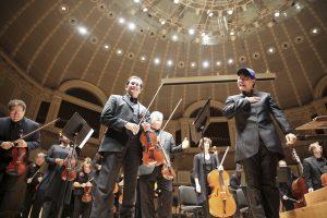 The Sinfonietta's Dia de los Muertos Concert at Symphony Center on Monday, October 31st, 2016. Photo by Jasmin Shah