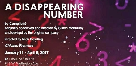 Post image for Chicago Theater Review: A DISAPPEARING NUMBER (TimeLine Theatre Company)