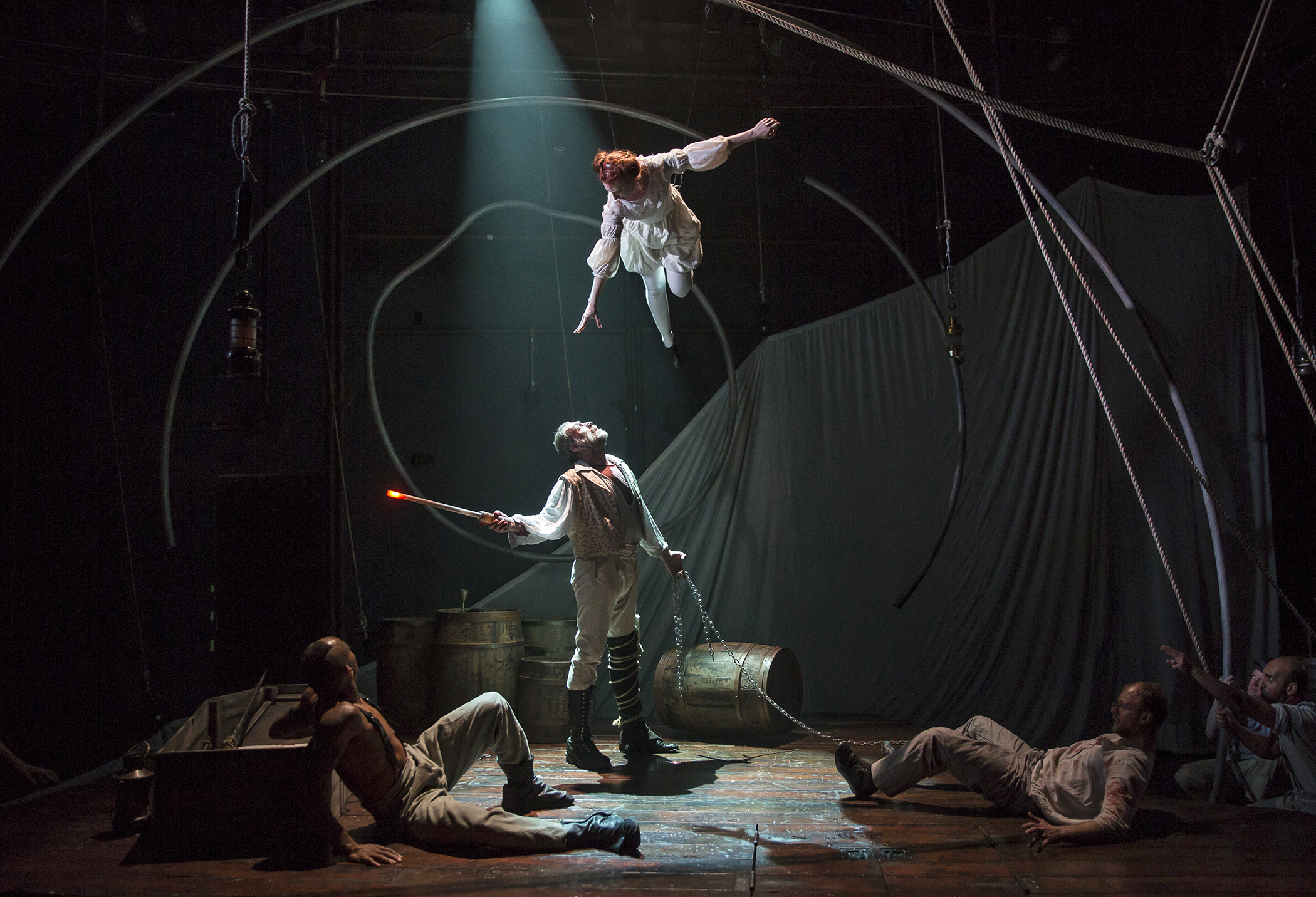 theater preview moby dick south coast rep in costa mesa having seen this aerial athletic show in chicago i can tell you that lookingglass theatre associated actors gymnasium a circus and performing arts